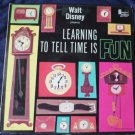 Walt Disney Presents Learning To Tell Time Is Fun lp