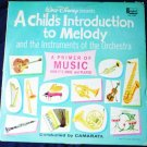A Childs Introduction to Melody and the Orchestra Disney lp dq-1232