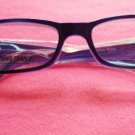New + 2.50 Sapphire Blue Reading Glasses Eyeglasses With Pouch
