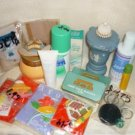 Avon Lot of New Discontinued Items Perfume Keychains Lip Gloss Deodorant and More
