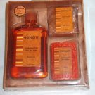 Serengetti Bath Set Shower Gel Bath Crystals Soap w Shea Butter - New -