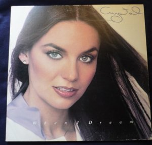 When I Dream - Crystal Gayle Gatefold lp - uala 858h