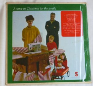 A Singer Christmas for the Family lp Don Janse Chorale 1963 One Owner