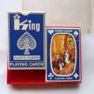 2 Decks of King Playing Bridge Size Cards Hound Puppies in Stardust Plastic Case