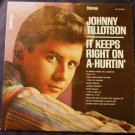 It Keeps Right on A Hurtin by Johnny Tillotson Rare lp clp 25058