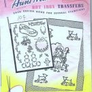 1940s Aunt Marthas Transfers Pattern 3628 New Baby Designs
