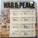 War and Peace 13 Scenes lp by Prokofiev - 4 Record Set and Book Columbia