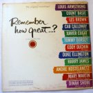 Remember How Great lp - Various Artists - Lucky Strike Collectors Item xtv66640
