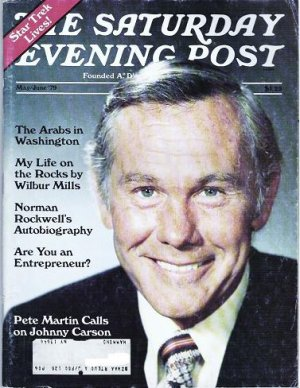 Saturday Evening Post May June 1979 Johnny Carson Star Trek Lives