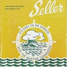 Marine Surplus Seller - September 1946 Catalog of WW2 Maritime Items for Sale