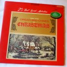 25 Best Loved Melodies Organ And Chimes For Christmas lp - Robert Mason