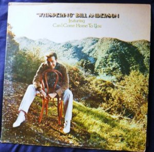 Whispering lp - Bill Anderson mca-416 One Owner