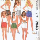 McCalls Pattern 7943 - Uncut - Ladies Size 8 - Six Different Shorts