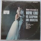 Dance to the Music of Wayne King lp Saxophone and Orchestra vl 73772