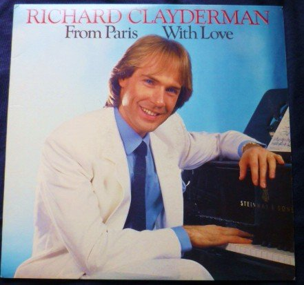 From Paris With Love lp By Richard Clayderman fc 40174