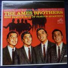 Sing Famous Hits of Famous Quartets The Ames Brothers lp lsp-1954