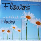 2011 16 Month Calendar Blooming Flowers with Purse Calendar Included Sealed