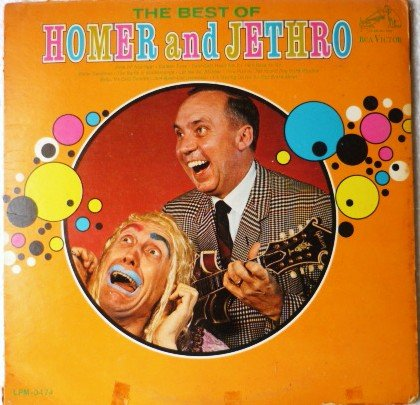 The Best of Homer and Jethro 1966 Vinyl lp lpm-3474