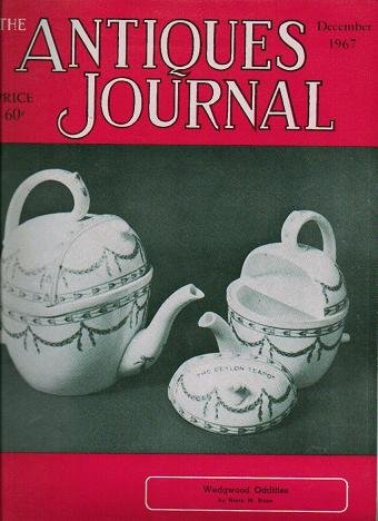 The Antiques Journal December 1967 Wedgwood Oddities