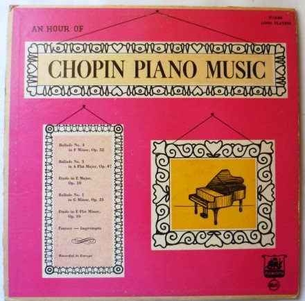 Rare Lp - An Hour of Chopin Piano Music - p 12-84