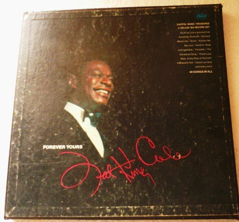 Forever Yours by Nat King Cole - Deluxe Record Set dnfr-7620 .