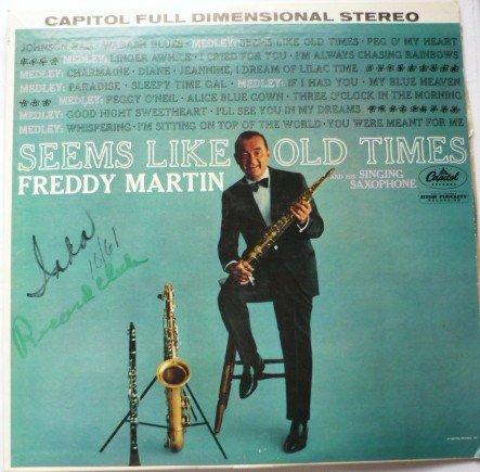 Seems Like Old Times - Freddy Martin lp st 1486