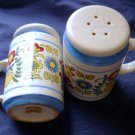 Pennsylvania Dutch Large Salt and Pepper Shaker Set