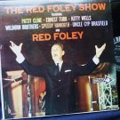 The Red Foley Show Record lp dl4341 featuring Patsy Cline Ernest Tubb Kitty Wells And Many More