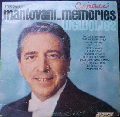 Mantovani -- Memories lp Stereo PS 542