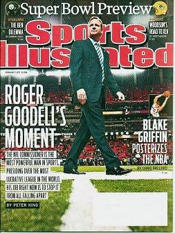 Unread - Sports Illustrated February 7 2011 Super Bowl Preview Roger Goodells Moment