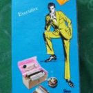 Boxed Shoe Polishing Kit by Griffin w Polishes Shine Cloths Original Case
