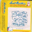 Vintage Aunt Marthas Hot Iron Transfers No 3772 Antique Cars
