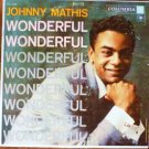Wonderful Wonderful lp - Johnny Mathis CL 1028 -  6 eye