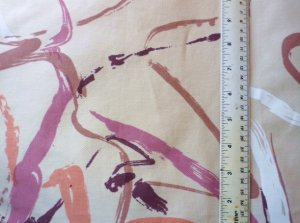3 Palais James Ware Abstract Pattern Fabric - Furniture Curtains 22 x 24 In