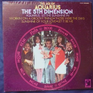 The Age Of Aquarius lp- the 5th Dimension scs-92005 Gatefold