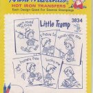Unused Vintage Aunt Marthas Transfers 3834 Little Tramp
