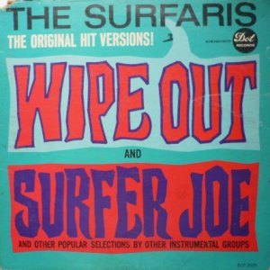 Wipe Out and Surfer Joe lp - the Surfaris dlp-3535