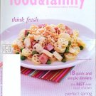 Unread Kraft Food and Family Magazine Spring 2005