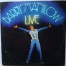 Barry Manilow Live 1977 lp Double Album al 8500 NM-