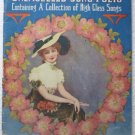 Unexcelled Song Folio Containing a Collection of High Class Songs Eclipse Publ Co