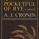 A Pocket Full of Rye - A J Cronin Hardcopy
