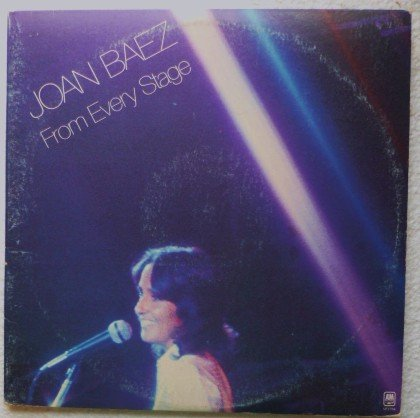 Joan Baez 2 lps: From Every Stage Gatefold Cover sp3704