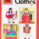 Wonder Starters Book: Clothes 1972 Hardcover - Christine Sharr