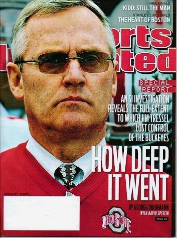 Sports Illustrated - Unread - June 6 2011 Jim Tressel Stanley Cup Finals