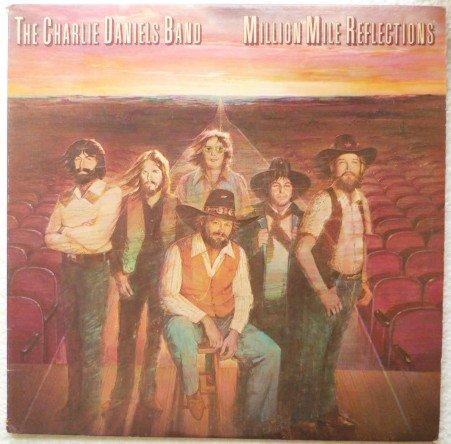Million Mile Reflections lp - The Charlie Daniels Band nm- 35751