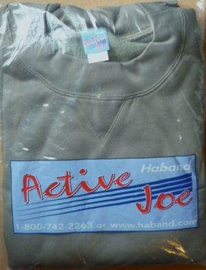 Active Joe SweatShirt Mens Size 4X - Brand New in Package Color Green