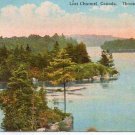1920 Canadas Lost Channel - 1000 Islands Full Color Post Card