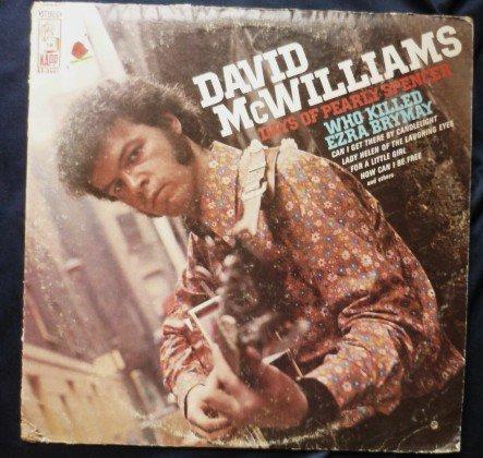 David McWilliams lp Days of Pearly Spencer ks-3547