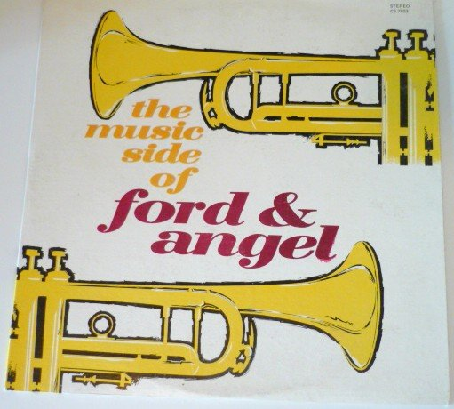 The Music Side of Ford and Angel cs 7803 - Autographed  Rare Album