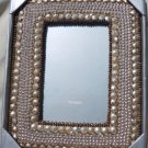 India Beaded Picture Frame - Pier One Imports NIB 5x7 Inch